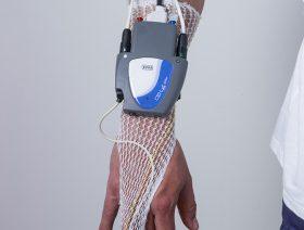 Vue polysomnographe au poignet